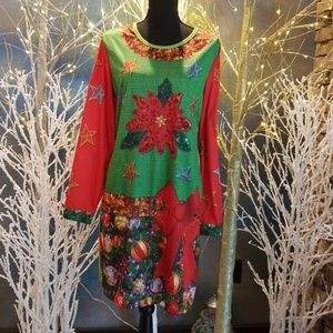 Ugly holiday Christmas Dress